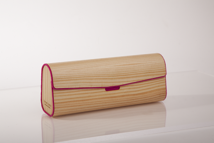 Wooden Cases for Glasses - Pine Pink