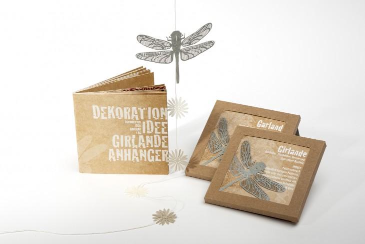 Garland dragonfly blue - Garland-DE