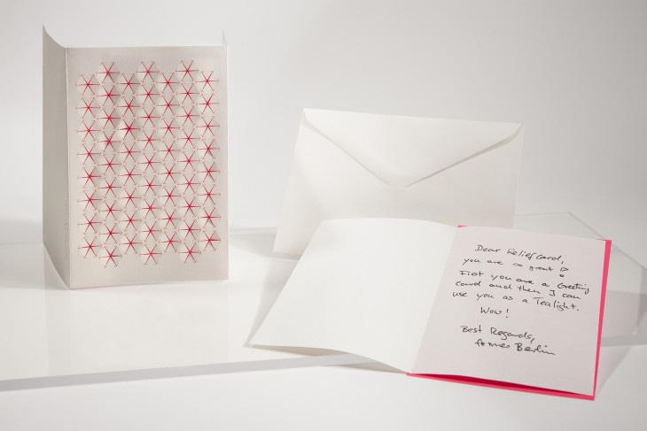 White Stars - Relief Card