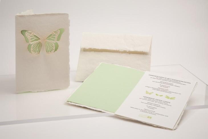 Butterfly - Handmade Paper Card