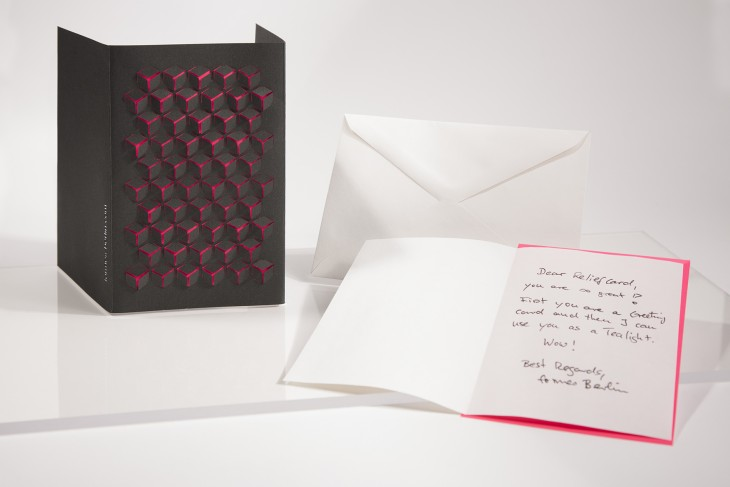 Black Cube - Relief Card