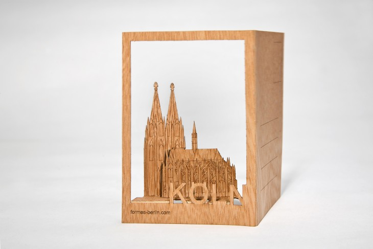 Cologne - Wooden Postcard
